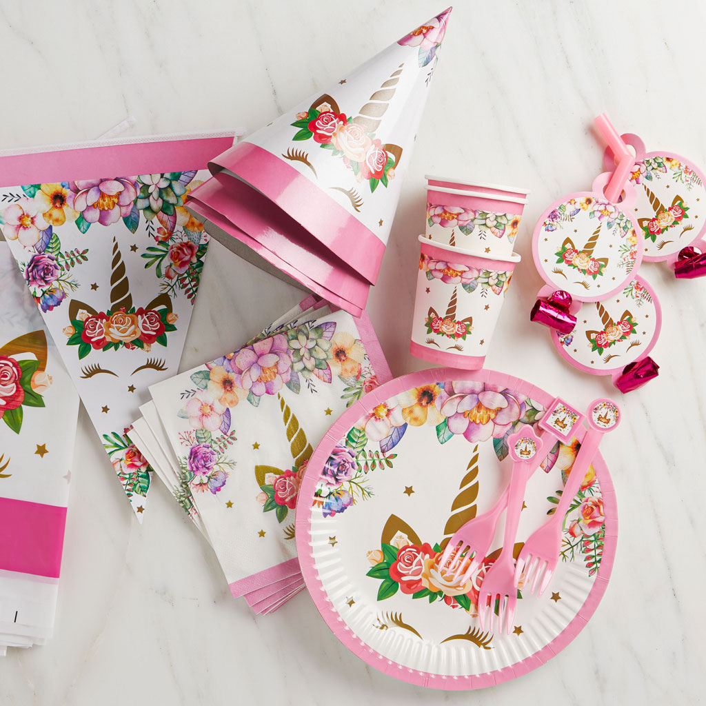 Picture of Unicorn Party Pack(Setting for 8)