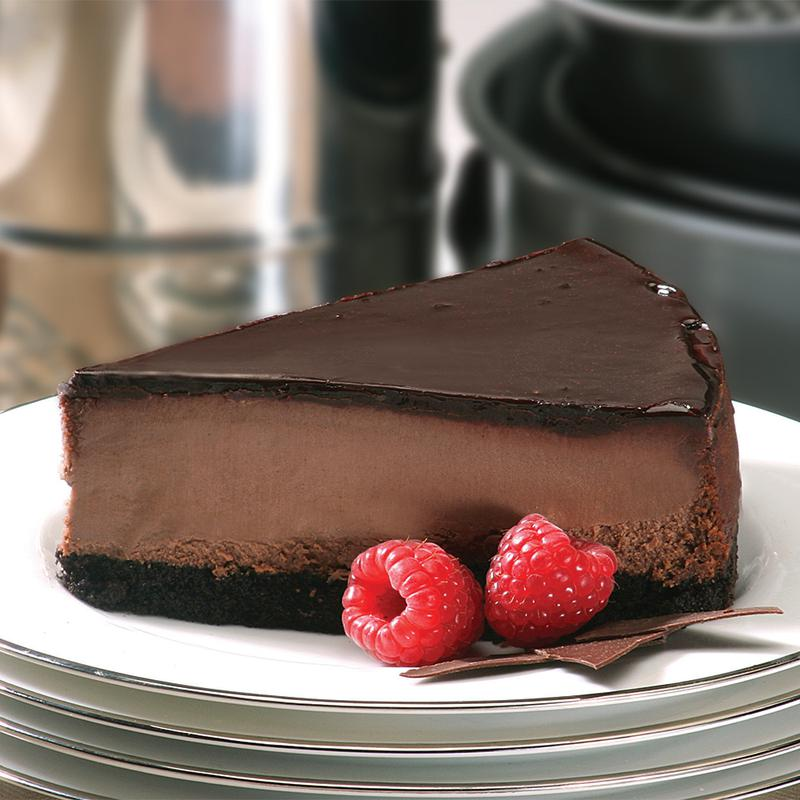 Picture of Triple Chocolate Cheesecake - 10""