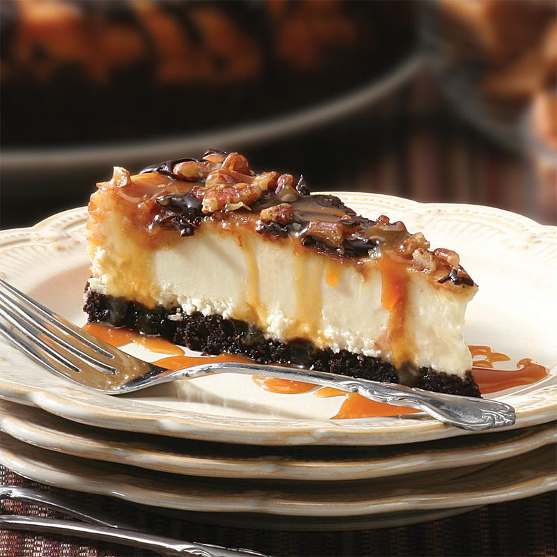 Picture of Chocolate Caramel Pecan Cheesecake - 10""