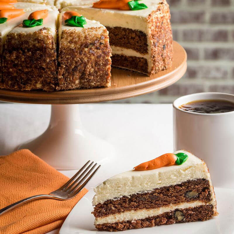 Picture of Carrot Layer Cake - 10""