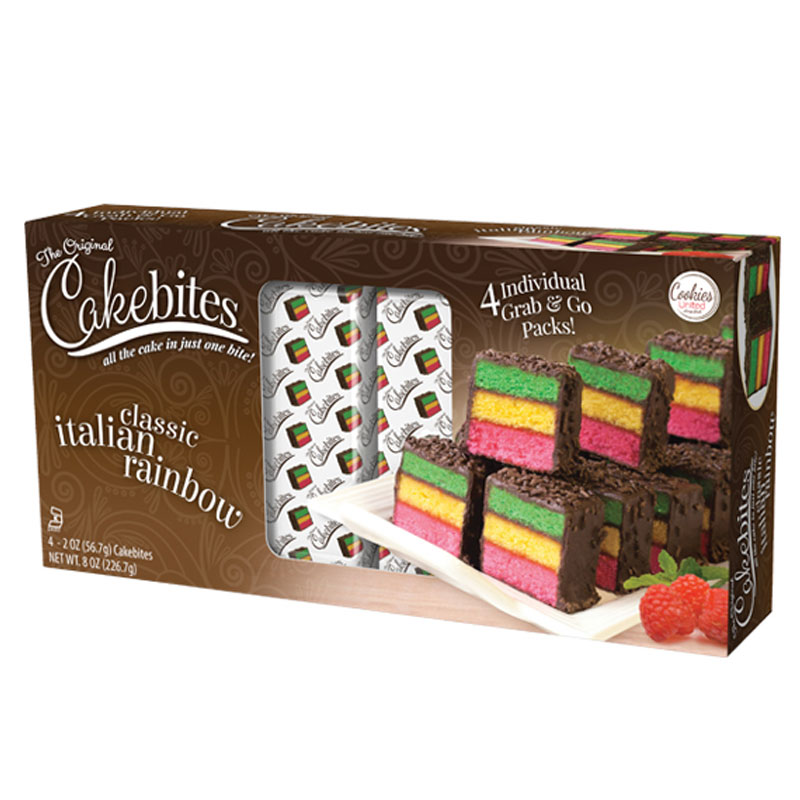 Picture of Italian Rainbow Cake Bites, Picture 3