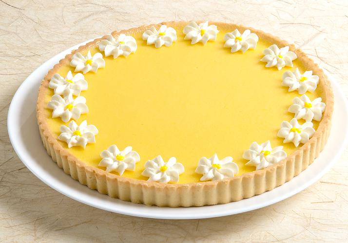 Picture of Lemon Flower Tart - 9.5""