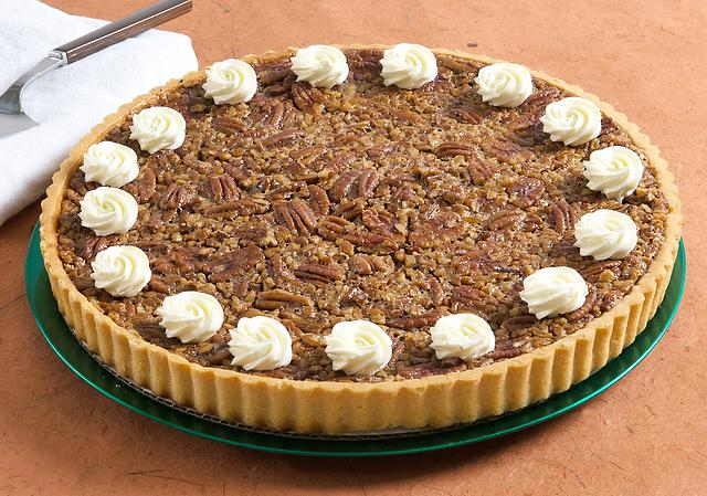 Picture of Bourbon Pecan Tart - 9.5""